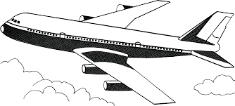 Free Clipart Of A Plane