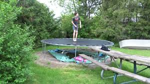 DOUBLE KABOOM ON BACKYARD TRAMPOLINE! - YouTube Best Trampolines For 2018 Trampolinestodaycom 32 Fun Backyard Trampoline Ideas Reviews Safest Jumpers Flips In Farmington Lewiston Sun Journal Images Collections Hd For Gadget Summer House Made Home Biggest In Ground Biblio Homes Diy Todays Olympic Event Is Zone Lawn Repair Patching A Large Area With Kentucky Bluegrass All Rectangle 2017 Ratings
