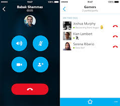 Skype for iPhone version 5 4 allows group audio calls