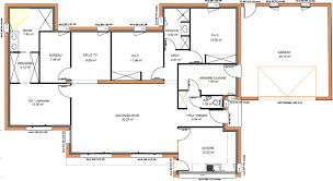 plan de maison plain pied 4 chambres plan maison contemporaine plain pied 4 chambres maison françois fabie