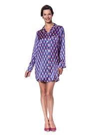 maria anna lila silk nightshirt the maria anna collection silk
