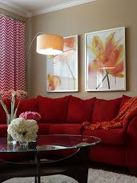Red Sofa Living Room Ideas by Red Tan And Brown Living Room Ideas