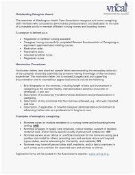 61 Fabulous Gallery Of Caregiver Summary For Resume | Best ...