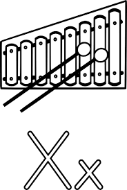 X Is For Xylophone Clip Art at Clker vector clip art online