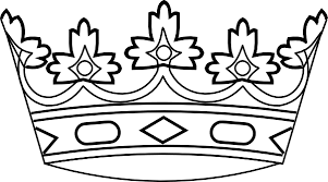 600x334 Crown black and white king crown clip art black and white free