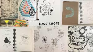 Nextech Internet Help Desk by Volcom Art Loft Artists Share Their Sketchbooks