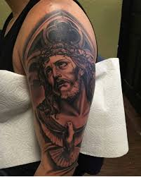 Traditional Half Sleeve Tattoo