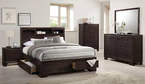 Silvia Storage Bedroom Set Crown Mark Furniture