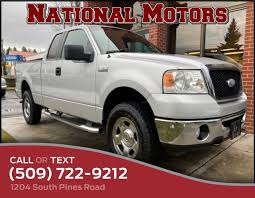 100 Truck Accessories Spokane Used 2007 Ford F150 XLT 115700 0 99206 Automatic