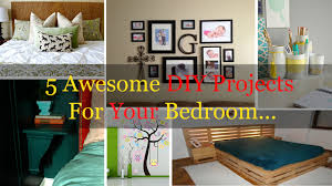 5 Awesome Diy Projects For Your Bedroom Home Tips Lol