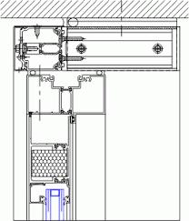curtain wall door plan detail integralbook com