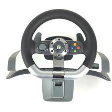 siege volant xbox 360 microsoft xbox 360 wireless racing wheel ensemble volant et