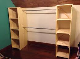 wardrobe armoire clothes rack plans best of best diy free