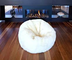 Big Bean Bag Bed Jumbo Chair Styles Sheepskin Beanbag X Large