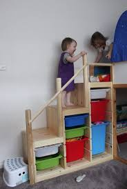 Mydal Bunk Bed by Ikea Bunk Bed Stairs Hack Ikea Trofast Steps With Ikea Besta And