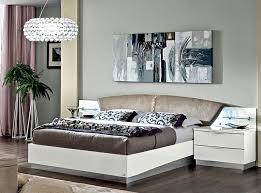 Platform Bed EF Donna White by Camelgroup