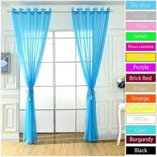 Crushed Voile Curtains Grommet by No 918 Erica Sheer Crushed Voile Single Curtain Panel Free