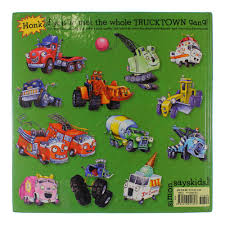 100 Truck Town Hardcover Book