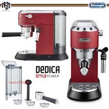Delonghi Espresso Coffee Maker Dedica Style EC 685R Matte Red