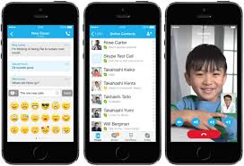 Skype for iPhone and iPad Updated With iOS 7 Redesign Mac Rumors