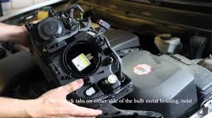 how to replace volvo xc90 hid headlight