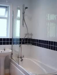 white bathroom tiles with border ideas and pictures