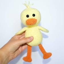Crochet Duck Pattern Thefriendlyredfoxcom