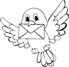 The Black Bird Coloring Pages Free And Page