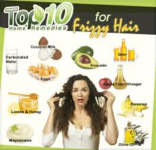 Home Reme s for Frizzy Hair