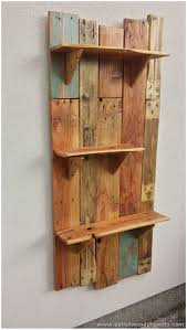 Wood Crate Shelf Diy by Small Wood Shelf Projects 1000 Ideas About Wood Shelf On Pipe Wood