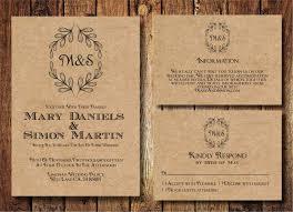 Free Rustic Wedding Invitation Templates