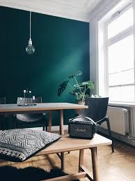 wohnzimmer ideen dunkelgrün