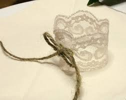 Shop For Lace Napkin Rings On Etsy The Place To Express Your Creativity Through Buying And Selling Of Handmade Vintage Goods