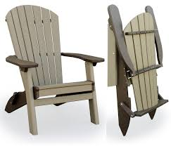 Polywood Adirondack Chair Cushions by Amish Outdoor Folding Poly Adirondack Chair Easy Woodworking
