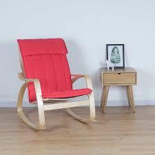 bequeme entspannen holz erwachsene schaukel stuhl sessel wohnzimmer möbel moderne bugholz lounge liege rocker segelflugzeug stuhl