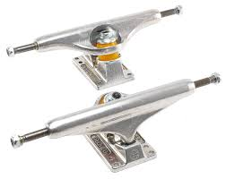100 Skateboard Trucks INDEPENDENT TRUCK 129 STAGE 10 LOW Silver Pair Macs Waterski