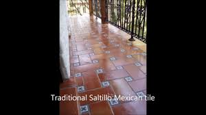 Manganese Saltillo Tile Presealed U Custom Stained Mexican by Saltillo Clay Floor Tile Choice Image Tile Flooring Design Ideas