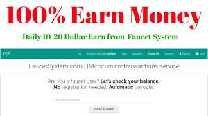 Bitcoin Faucet Rotator Script by Earn Money From Faucet System 100 Sure How To Earn