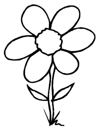 Printable Coloring Book Flowers