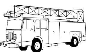 Coloriage Pompier Camion à Imprimer Sur COLORIAGES Info