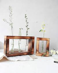 Image Is Loading Test Tube Flower Bud Vase Holder With Decorative