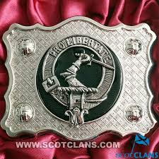 Clan Crest Buckle A Choice Of More Than 120 Crests