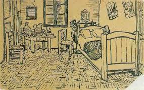 Vincent s Bedroom in Arles 1888 Vincent van Gogh WikiArt