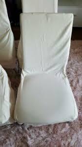 4x esszimmer stühle schwingstühle mit schonbezug