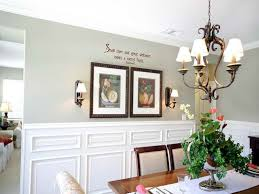 Formal Dining Room Wall Decor With Creative