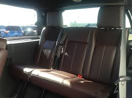 Luxury Suv With Second Row Captain Chairs by Used 2017 Ford Expedition Platinum 4wd With Second Row Captains