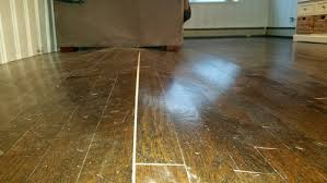 Wood Floor Cupping In Kitchen by Oak Hardwood Floor Has Lifted Significantly Pls Advise