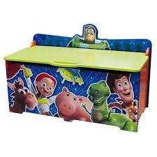 coffre à jouets en bois disney story grand modèle chambre d