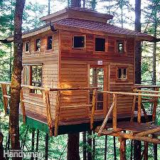free woodworking plans for building a tree house 8 u0027 hexagon