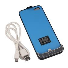 2200mAh External Power Bank Battery Charger Cover Case Pack for